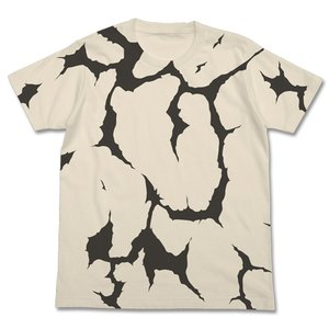 ウルトラセブン エレキング模様 Tシャツ NATURAL XLサイズ コスパ【予約/9月末〜10月上旬】|alice-sbs-y