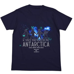 宇宙よりも遠い場所 Tシャツ NAVY よりもい Mサイズ コスパ【予約/2月末〜3月上旬】|alice-sbs-y