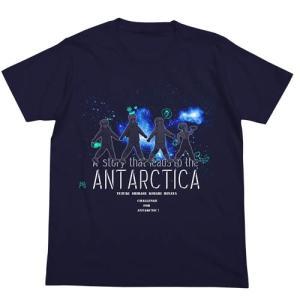 宇宙よりも遠い場所 Tシャツ NAVY よりもい XLサイズ コスパ【予約/9月末〜10月上旬】 alice-sbs-y