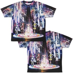 魔法少女まどか☆マギカ 両面フルグラフィックTシャツ Lサイズ コスパ【予約/9月末〜10月上旬】|alice-sbs-y