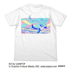 初音ミク 初音ミク フルカラーTシャツ じゃがバタVer. WHITE XLサイズ コスパ【予約/9月末〜10月上旬】|alice-sbs-y