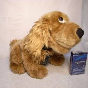 イヌ ふわふわぬいぐるみ 訳有 高さ約24cm 犬 いぬ 動物 Bever Hills xbfh12【中古】|alice-sbs-y