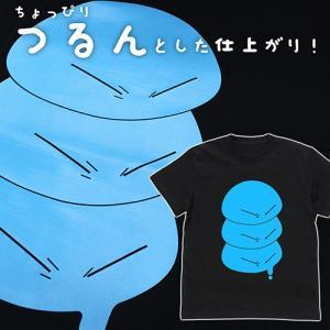 転生したらスライムだった件 つるんとしたリムル様 Tシャツ BLACK Sサイズ コスパ【予約/11月末〜12月上旬】|alice-sbs-y