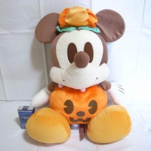 ミッキーマウス ハロウィンぬいぐるみ ジャンボ 全長およそ50cm ディズニー xbfp18【中古】|alice-sbs-y