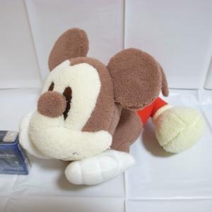 ミッキーマウス 寝そべりふわふわぬいぐるみ ディズニー xbfp19【中古】|alice-sbs-y