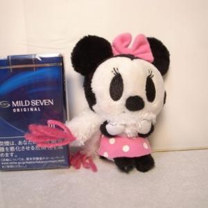 ミニーマウス ぬいぐるみ ボールチェーン付き ディズニー xbfp23【中古】|alice-sbs-y