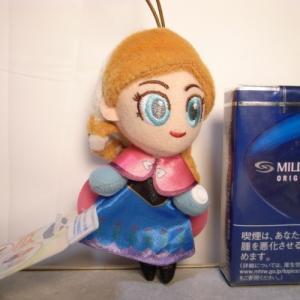アナと雪の女王 ぬいぐるみ アナ 約11cm セガ/ディズニー xbfp34【中古】|alice-sbs-y