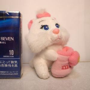 おしゃれキャットマリー ぬいぐるみ 約9cm ディズニー xbfp36【中古】|alice-sbs-y