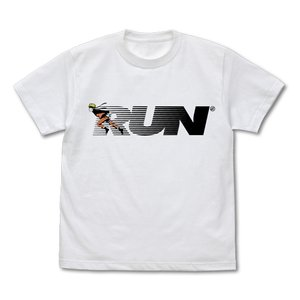 NARUTO-ナルト- 疾風伝 ナルトRUN Tシャツ WHITE XLサイズ コスパ【予約/11月末〜12月上旬】|alice-sbs-y