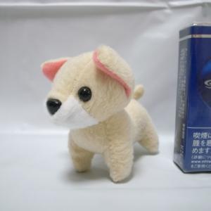 イヌ ぬいぐるみ 全長およそ9cm 犬 メーカー不明 xbgc51【中古】|alice-sbs-y