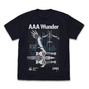 エヴァンゲリオン グッズ AAAヴンダー Tシャツ DARK NAVY Lサイズ コスパ【予約/9月末〜10月上旬】|alice-sbs-y