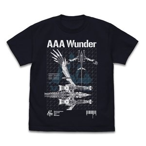 EVANGELION AAAヴンダー Tシャツ BLACK XLサイズ コスパ【予約/11月末〜12月上旬】|alice-sbs-y