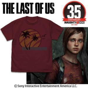 THE LAST OF US Ellie Tシャツ BURGUNDY Mサイズ コスパ【予約/2月末〜3月上旬】|alice-sbs-y