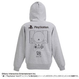 プレイステーション ジップパーカー 初代 PlayStation MIX GRAY XLサイズ コスパ【予約/10月末〜11月上旬】 alice-sbs-y
