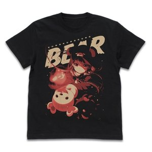 くまクマ熊ベアー Tシャツ BLACK Sサイズ コスパ【予約/12月末〜1月上旬】 alice-sbs-y