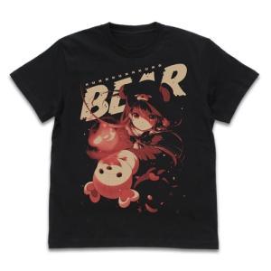 くまクマ熊ベアー Tシャツ BLACK Lサイズ コスパ【予約/12月末〜1月上旬】 alice-sbs-y