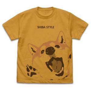 世界の終わりに柴犬と 石原雄先生デザイン ハルさん突撃 Tシャツ CAMEL Sサイズ コスパ【予約/12月末〜1月上旬】 alice-sbs-y