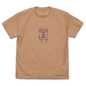 世界の終わりに柴犬と 石原雄先生デザイン 壁とハルさん Tシャツ CORAL BEIGE XLサイズ コスパ【予約/12月末〜1月上旬】 alice-sbs-y