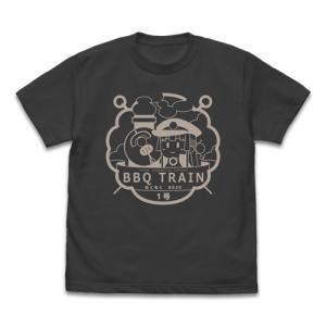 まいてつ Last Run!! BBQ列車もくもくハチロク号 Tシャツ SUMI Lサイズ コスパ【予約/12月末〜1月上旬】 alice-sbs-y