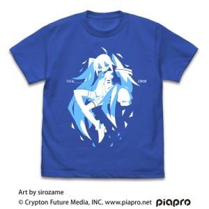 初音ミク Tシャツ sirozame Ver. ROYAL BLUE Lサイズ コスパ【予約/2月末〜3月上旬】|alice-sbs-y