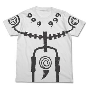 NARUTO-ナルト- 疾風伝 九尾チャクラモードTシャツ WHITE XLサイズ コスパ【予約/2月末〜3月上旬】|alice-sbs-y