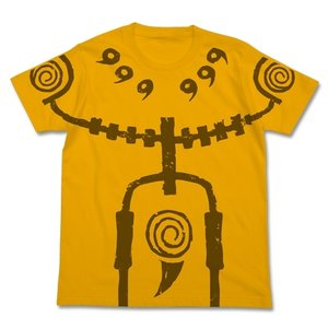 NARUTO-ナルト- 疾風伝 九尾チャクラモードTシャツ GOLD XLサイズ コスパ【予約/2月末〜3月上旬】|alice-sbs-y