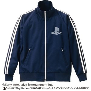 プレイステーション ジャージVer.2 PlayStation NAVY×WHITE Sサイズ コスパ【予約/2月末〜3月上旬】|alice-sbs-y
