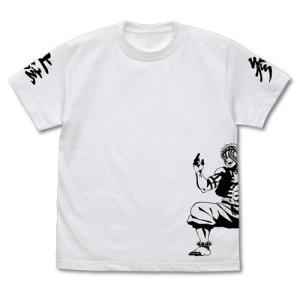 鬼滅の刃 グッズ 猗窩座 Tシャツ WHITE Sサイズ コスパ【予約/12月末〜1月上旬】|alice-sbs-y