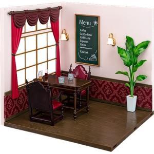ねんどろいどプレイセット #09 喫茶店Aセット ABS&PVC製ねんどろいど用ジオラマセット ファットカンパニー【予約/12月末〜1月上旬】|alice-sbs-y