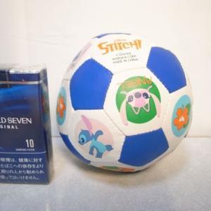 スティッチ ミニサッカーボール 直径約10cm ディズニー xbhh24【中古】|alice-sbs-y