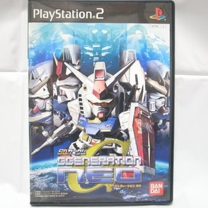 【PS2】SDガンダム ジージェネレーション・ネオ NEO バンダイ xbhj12【中古】|alice-sbs-y