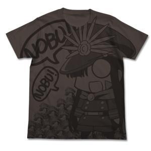 Fate/Grand Order ノッブぐだぐだ本能寺オールプリントTシャツ CHARCOAL Sサイズ コスパ【予約/6月末〜7月上旬】|alice-sbs-y