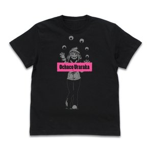 ヒロアカ グッズ 麗日お茶子 Tシャツ 雪まつりVer. BLACK XLサイズ コスパ【予約/12月末〜1月上旬】|alice-sbs-y