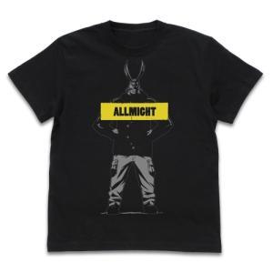 ヒロアカ グッズ オールマイト Tシャツ 雪まつりVer. BLACK XLサイズ コスパ【予約/12月末〜1月上旬】|alice-sbs-y