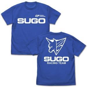 新世紀GPXサイバーフォーミュラ スゴウアスラーダ Tシャツ ROYAL BLUE Mサイズ コスパ【予約/11月末〜12月上旬】|alice-sbs-y