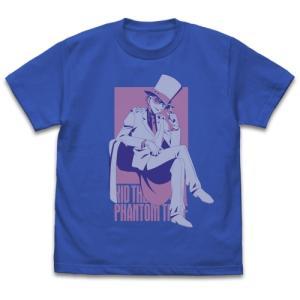 名探偵コナン グッズ 怪盗キッド ウインドウ Tシャツ ROYAL BLUE XLサイズ コスパ【予約/9月末〜10月上旬】 alice-sbs-y