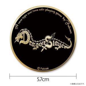 ドラゴンスレイヤー メタルバッジ ステンレス製(ゴールドメッキ仕上げ) コスパ【予約/10月末〜11月上旬】 alice-sbs-y