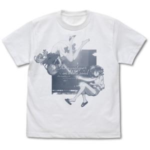 白い砂のアクアトープ グッズ くくる&風花アクアリウム Tシャツ WHITE XLサイズ コスパ【予約/9月末〜10月上旬】 alice-sbs-y