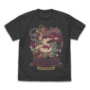 トロピカル〜ジュ!プリキュア グッズ キュアフラミンゴ Tシャツ SUMI XLサイズ コスパ【予約/9月末〜10月上旬】|alice-sbs-y