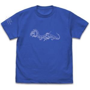 ドラゴンスレイヤーロゴ Tシャツ ROYAL BLUE XLサイズ コスパ【予約/9月末〜10月上旬】 alice-sbs-y