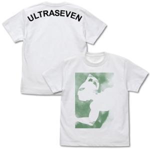 ウルトラセブン グッズ ウルトラセブンシルエット Tシャツ WHITE Lサイズ コスパ【予約/10月末〜11月上旬】|alice-sbs-y