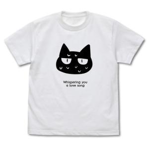 ささやくように恋を唄う グッズ ネコ Tシャツ WHITE Mサイズ コスパ【予約/11月末〜12月上旬】|alice-sbs-y