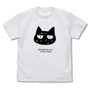 ささやくように恋を唄う グッズ ネコ Tシャツ WHITE XLサイズ コスパ【予約/11月末〜12月上旬】|alice-sbs-y