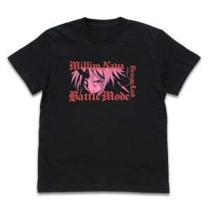 転スラ 転生したらスライムだった件 グッズ 竜装・ミリムナーヴァ Tシャツ BLACK Lサイズ コスパ【予約/11月末〜12月上旬】|alice-sbs-y