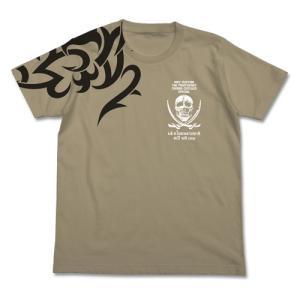 ブラック・ラグーン グッズ レヴィ タトゥーTシャツ SAND KHAKI XLサイズ コスパ【予約/11月末〜12月上旬】|alice-sbs-y
