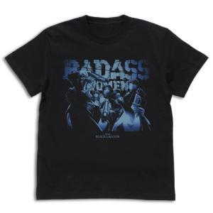 ブラック・ラグーン グッズ 地球で一番おっかない女たちのTシャツ BLACK Sサイズ コスパ【予約/11月末〜12月上旬】|alice-sbs-y