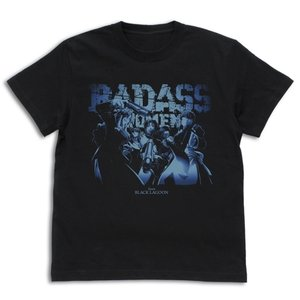 ブラック・ラグーン グッズ 地球で一番おっかない女たちのTシャツ BLACK XLサイズ コスパ【予約/11月末〜12月上旬】|alice-sbs-y