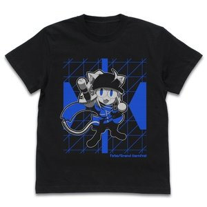 Fate/Grand Carnival グッズ 謎のネコX Tシャツ BLACK Sサイズ コスパ【予約/11月末〜12月上旬】|alice-sbs-y