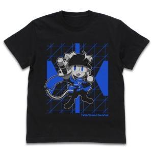 Fate/Grand Carnival グッズ 謎のネコX Tシャツ BLACK Mサイズ コスパ【予約/11月末〜12月上旬】|alice-sbs-y