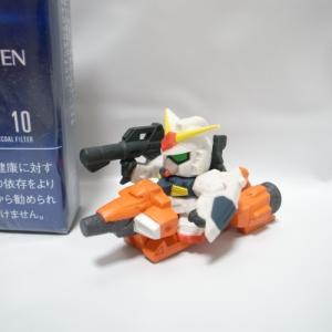 SDガンダム ガンダムMk-II&メガライダー 2点セット フィギュア バンダイ xbkk84【中古】|alice-sbs-y